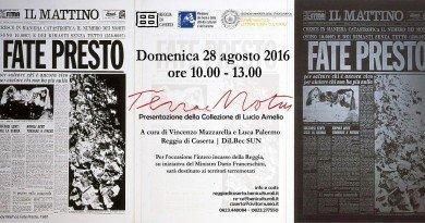 REGGIA DI CASERTA. TERRAE MOTUS | SPECIAL EVENT  Apertura straordinaria della Collezione Lucio Amelio