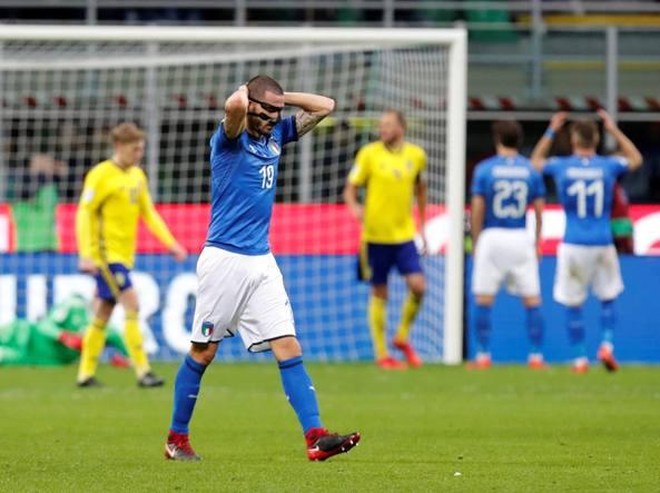 Mondiali: da Irlanda Nord a Svezia, i disastri azzurri