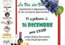 """SAN NICOLA LA STRADA. Natale sannicolese 2017, sabato 16 dicembre """"La Via dei Vini"""" in Piazza Parrocchia e via Bronzetti"""