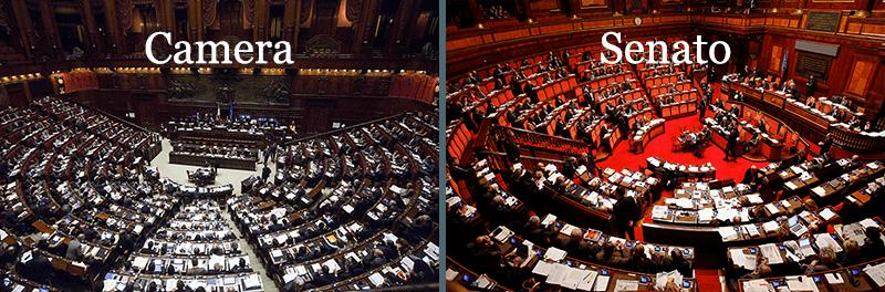 Risultati immagini per camera e senato