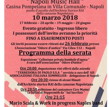 Napoli il 10 marzo secondo appuntamento con ritorno alla for Progress caserta prodotti