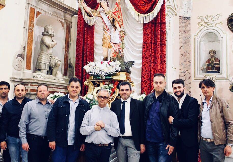 Trentola Ducenta Festa Di San Giorgio Martire Entra Nel