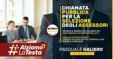 TRENTOLA DUCENTA, SELEZIONE PUBBLICA DEGLI ASSESSORI