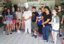 GRICIGNANO. Integrazione culinaria. Studenti U.S. Navy a scuola nella pasticceria Conte