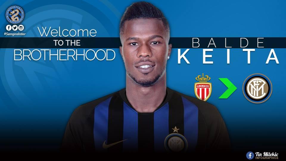 Maglia Home Inter Milan KEITA BALDE'