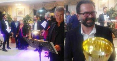 Premio Calliope 2018. Vince il giornalista Giuseppe Bocchino con l'editore Vozza