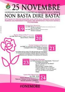 """Caserta: mercoledì 21 novembre al Parravano """"La Coscienza delle Donne"""" & #Onemore"""
