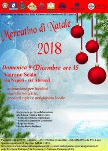 """Vairano Patenora: già pronto il programma del tradizionale """"Mercatino di Natale"""""""