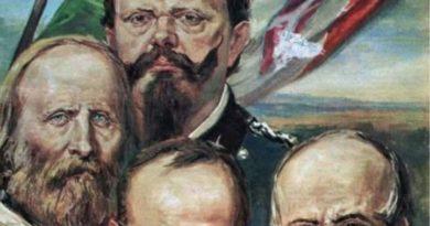 Il Paese della Tragicommedia: L'incontro di Teano, tra Giuseppe Maria Garibaldi e Vittorio Emanuele di Savoia, una farsa tutta italiana