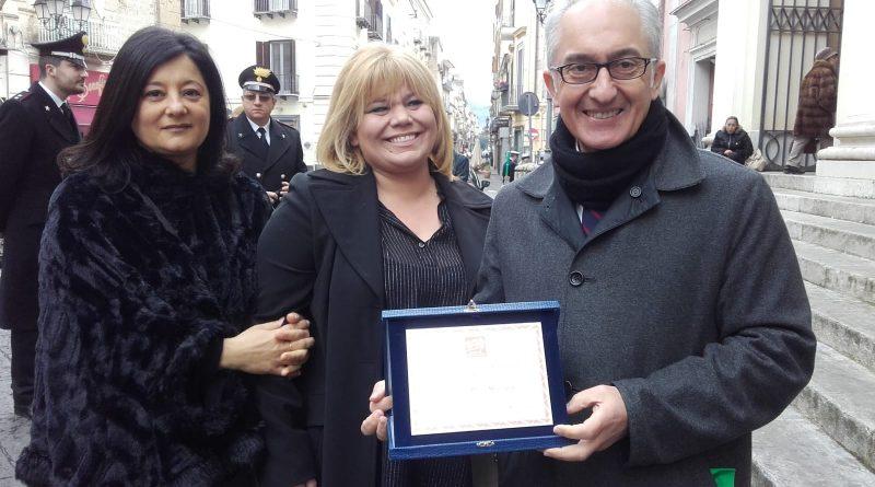 CASERTA - Ausiliari della Sosta soddisfatti premiano Sindaco e Vigili Urbani - Belvedere News - Alessandro Fedele