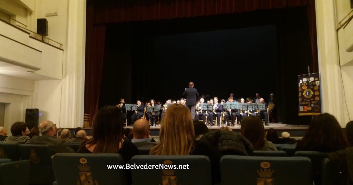 CASERTA - Successo di pubblico per il Concerto dell'Epifania ieri al Parravano - Belvedere News - Alessandro Fedele