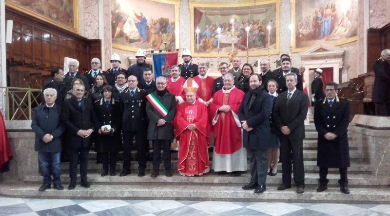 CASERTA - Festeggiata al Duomo di Caserta la festa della Polizia Municipale - Belvedere News - Alessandro Fedele