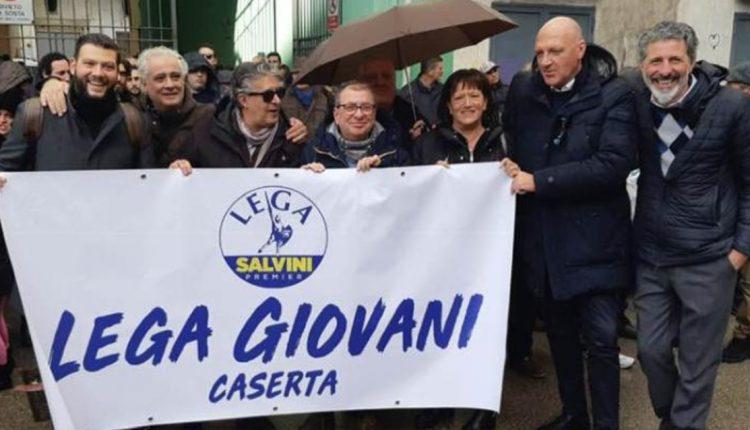 Da Caserta grande contributo a sostegno dell'attività del Ministro Salvini
