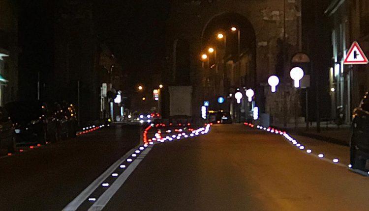 S. Maria CV. Sicurezza stradale, ultimata segnaletica orizzontale nei pressi Arco di Adriano