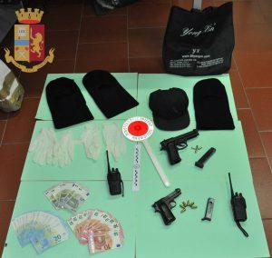 Castel Volturno. Rapinatori seriali di hotel. In arresto 3 persone