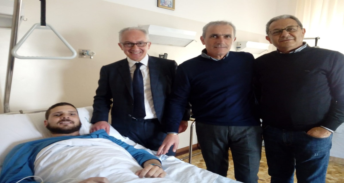 Il commento di Sindaco e Consiglieri dopo la visita al carabiniere ferito- Alessandro Fedele