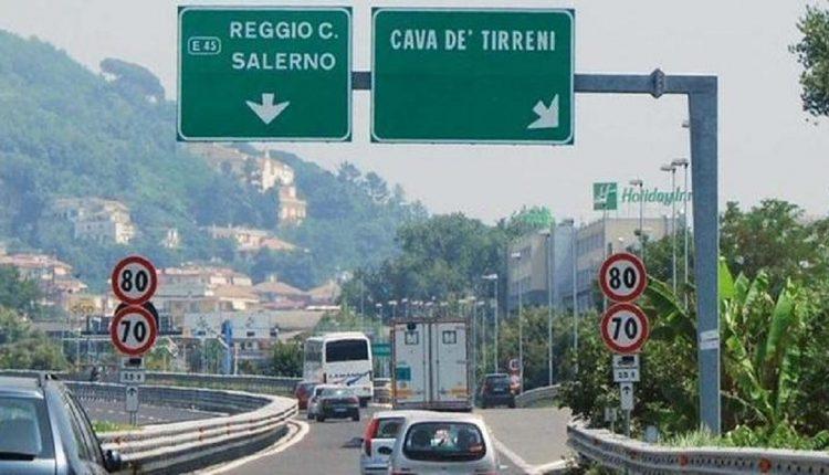 Per tre notti chiuso il tratto Cava De' Tirreni-Salerno sulla A3 - Alessandro Fedele
