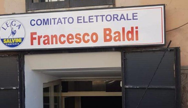 AVERSA, DISTRUTTO COMITATO ELETTORALE   È quello di Francesco Baldi candidato Lega