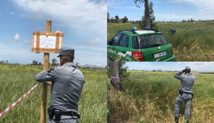 VILLA LITERNO, BLITZ CARABINIERI | Sequestrati terreni agricoli in zone interdette
