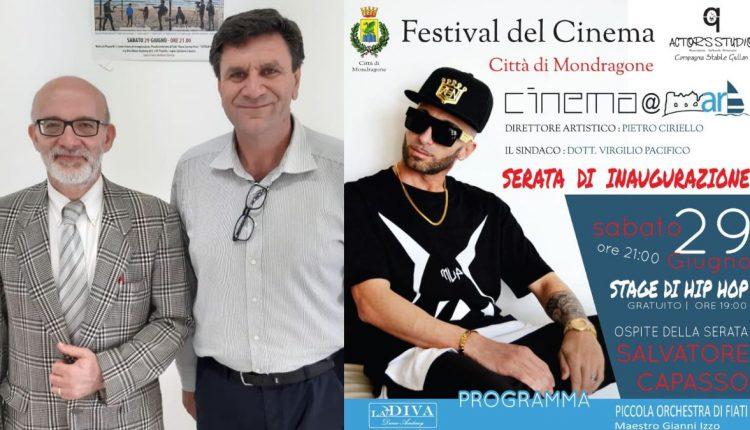 Mondragone, cinema@mare. Gemellaggio tra il Festival mondragonese e il Festival del cortometraggio