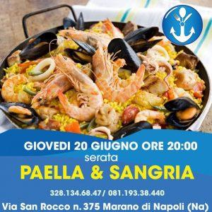 Paella e Sangria