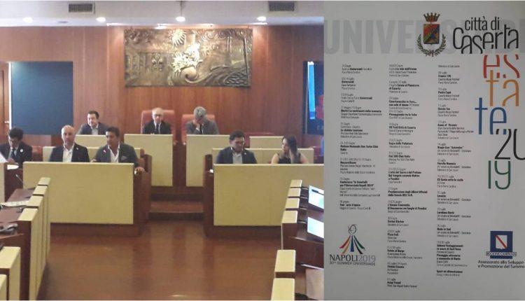 Caserta. Presentato il palinsesto degli eventi per le Universiadi 2019   FOTO ed INTERVISTE