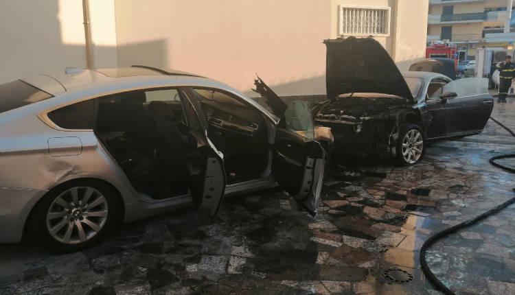 Aversa, incendiate due auto di lusso