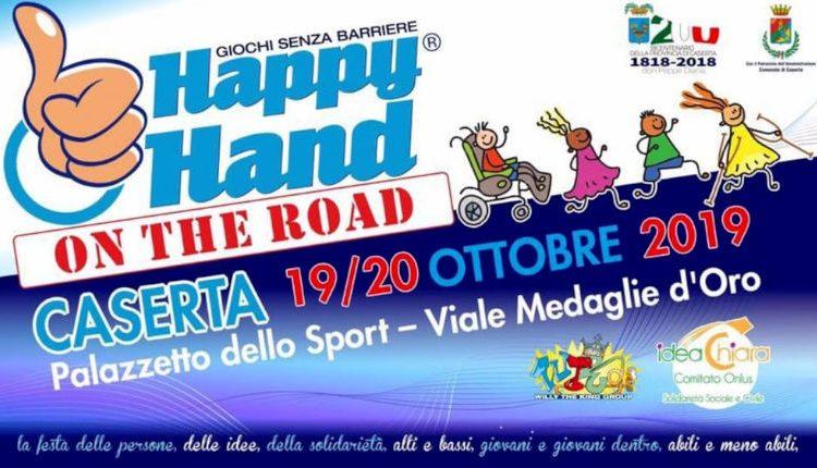 """La Dante Alighieri partecipa quest'anno al grande evento """"Happy Hand"""", la festa della solidarietà e dell'inclusione"""