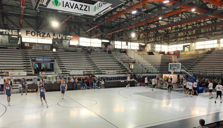Juvecaserta-Montegranaro, chiusa la tribuna Pasta Reggia