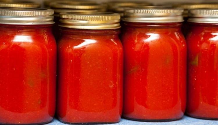 Sequestro di pomodori nella provincia di Caserta