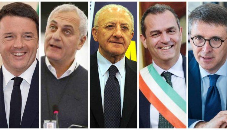 REGIONALI. Complicato l'accordo sul candidato alla presidenza del centrosinistra, ma i renziani sono con De Luca