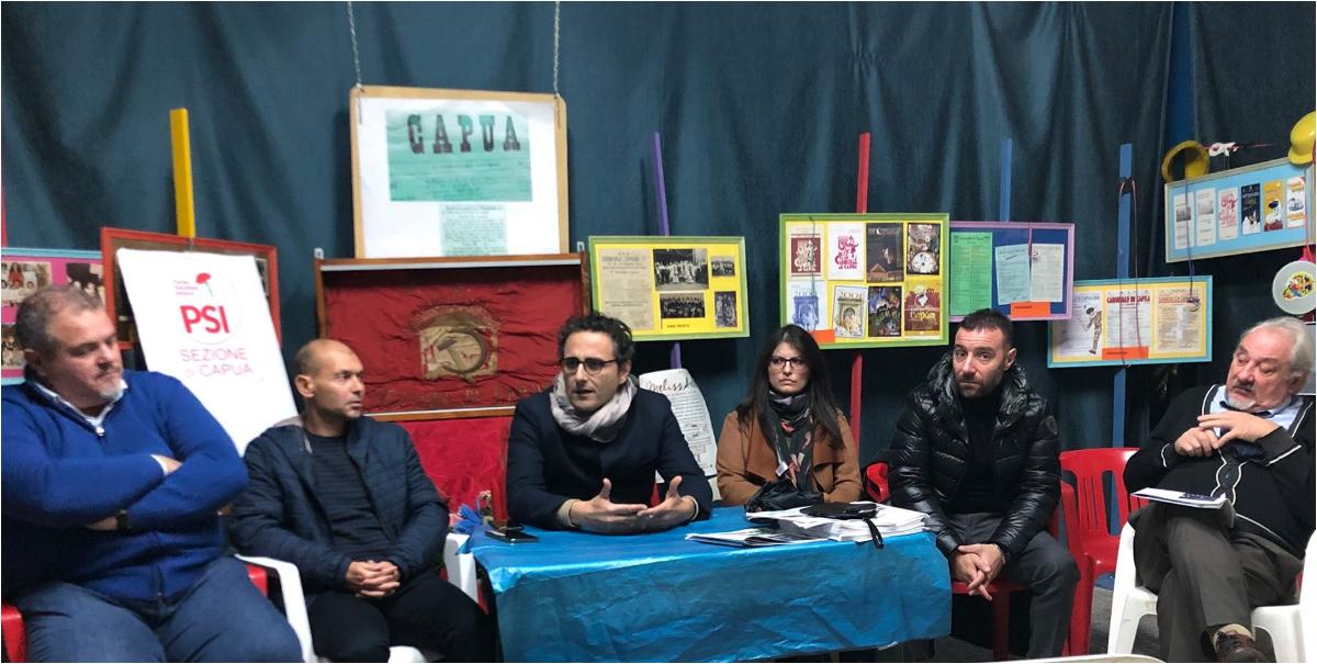 PSI CAPUA : WALTER FIERRO SUBENTRA A LUIGI FUSCO. Il 23 Novembre ritornerà ufficialmente il garofano nel logo dei socialisti - BelvedereNews