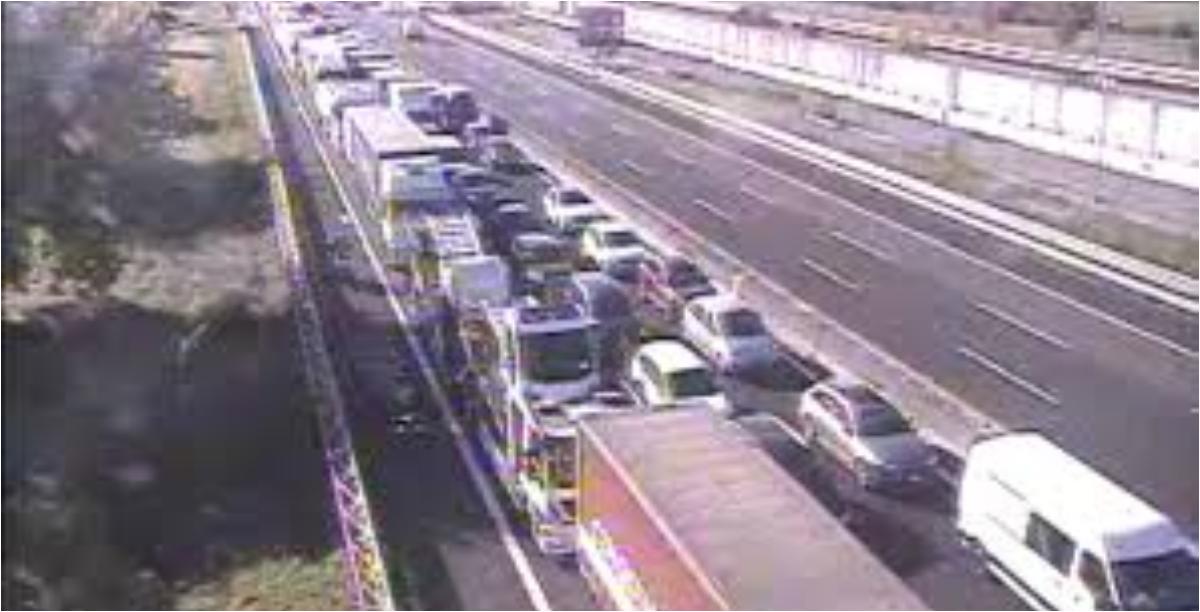 CASERTA. 2 Incidenti sull' A1. 5 KM di coda. - BelvedereNews