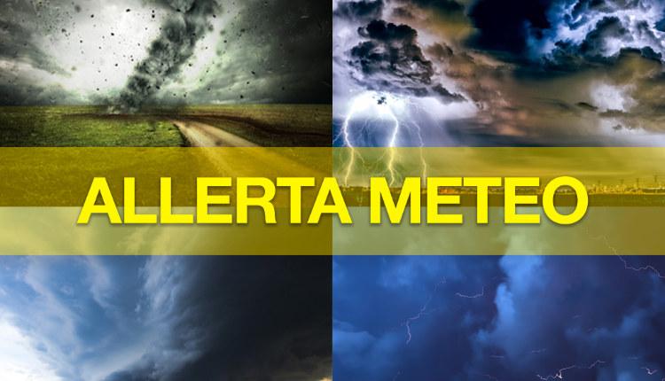 Allerta Meteo. Codice giallo dalle 9 di domani