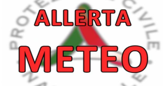 ALLERTA METEO ARANCIONE NEL CASERTANO